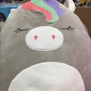 "Squishmallow Lg Plush Unicorn 16"" Teresa NWT"